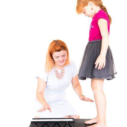 Barboletas līdzsvara platforma mācību procesā
